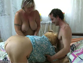 Hot blondes having hardcore sex