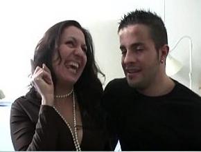Su mayor ilusión era follar duro con el actor porno Nick Moreno